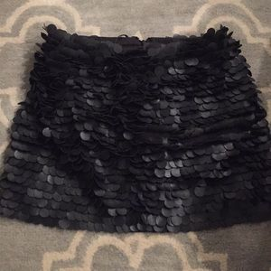 Party Skirt in Black for a Night Out!
